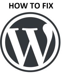 WordPress-Troubleshoot